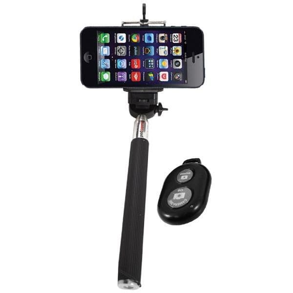 Telescopic Selfie Stick With Bluetooth Remote For iPhone And Samsung