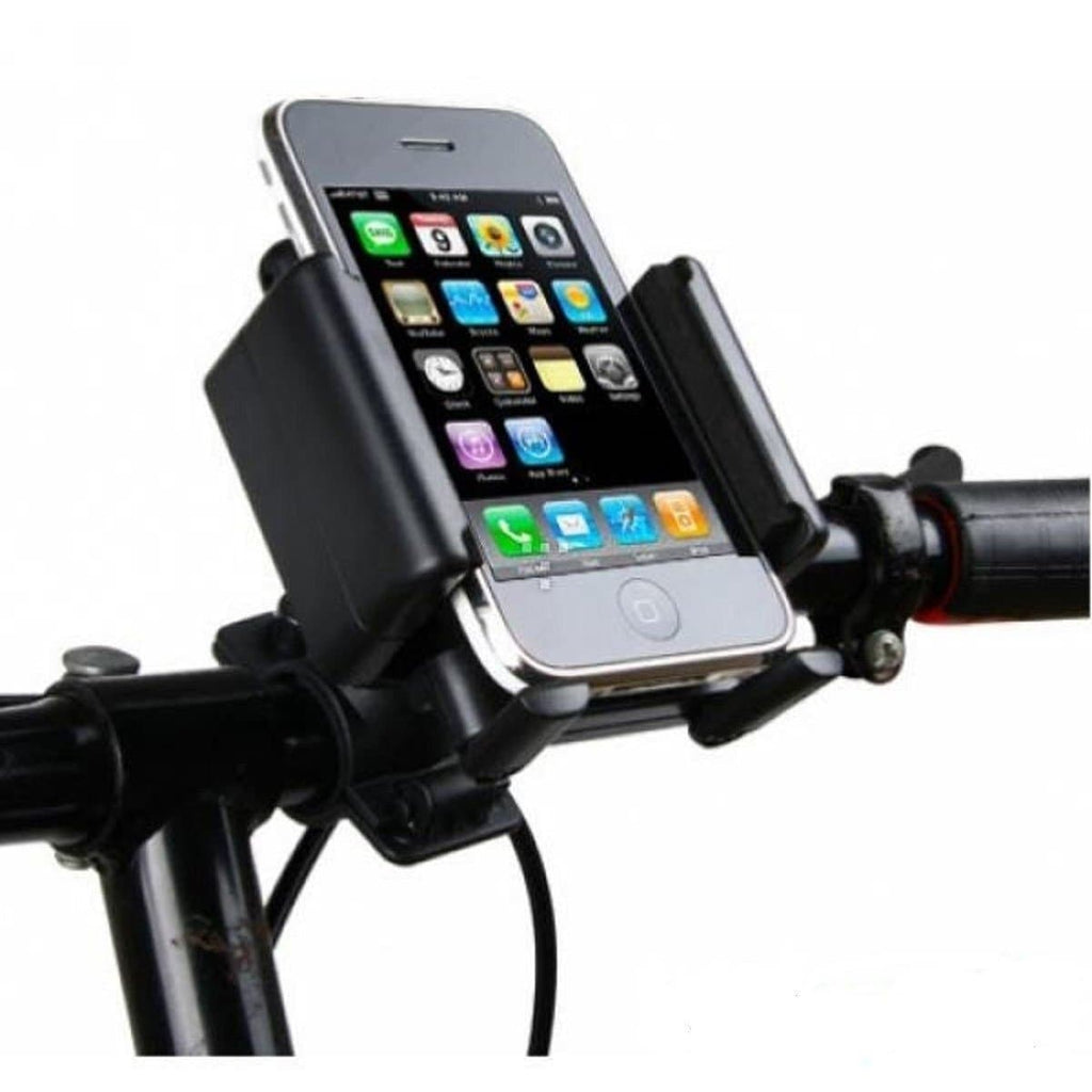 Universal Bicycle Bike Mobile Phone Holder Mount Handlebar Holster Attachment