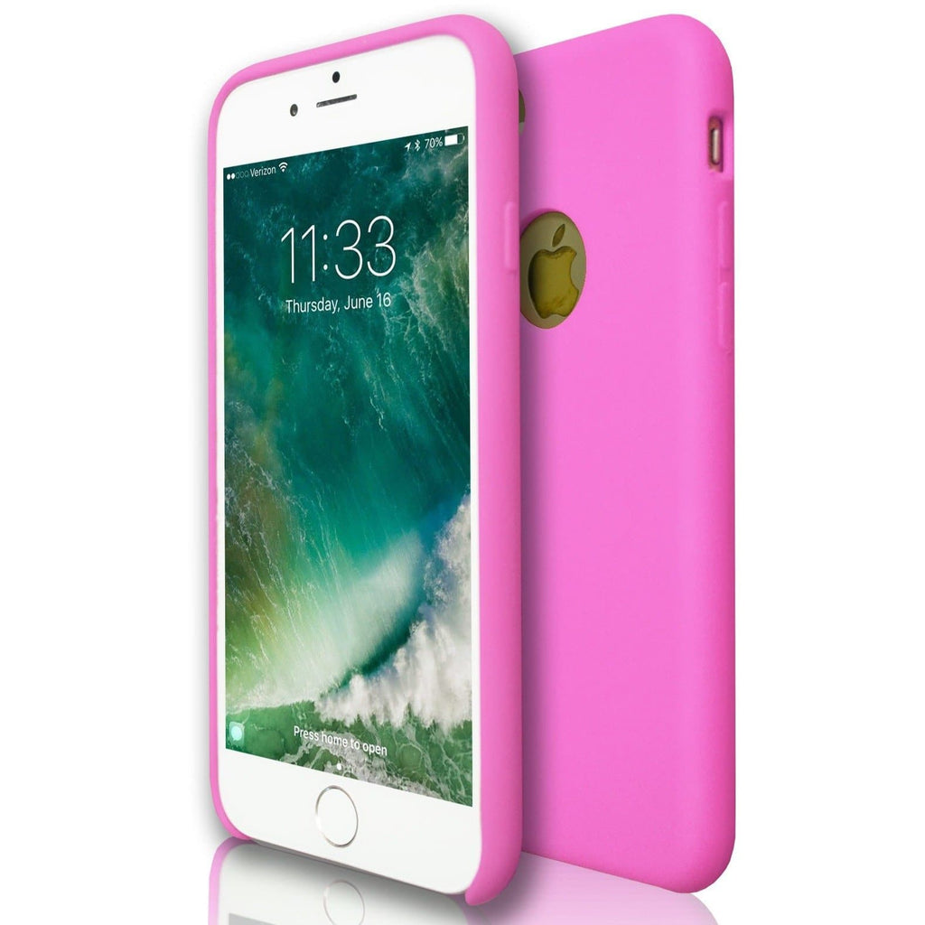 Apple iPhone 7 - Hydro Gel Soft Silicone Protective Case - Pink