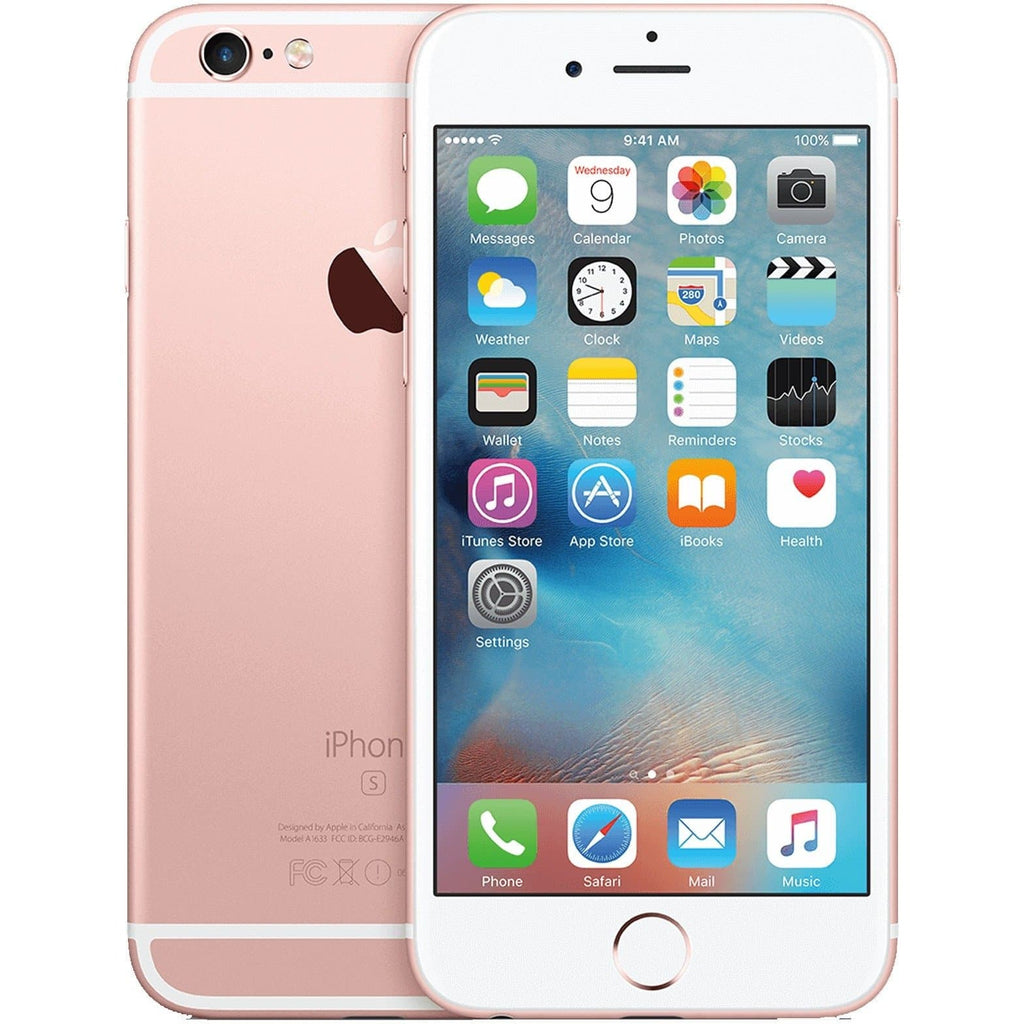 Apple iPhone 6S - Rose Gold - (64GB) - EE T-Mobile Orange Virgin - Good Condition