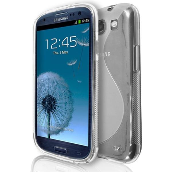 Samsung Galaxy S3 (I9300) - Clear S Line Gel Silicone Rubber Case Cover