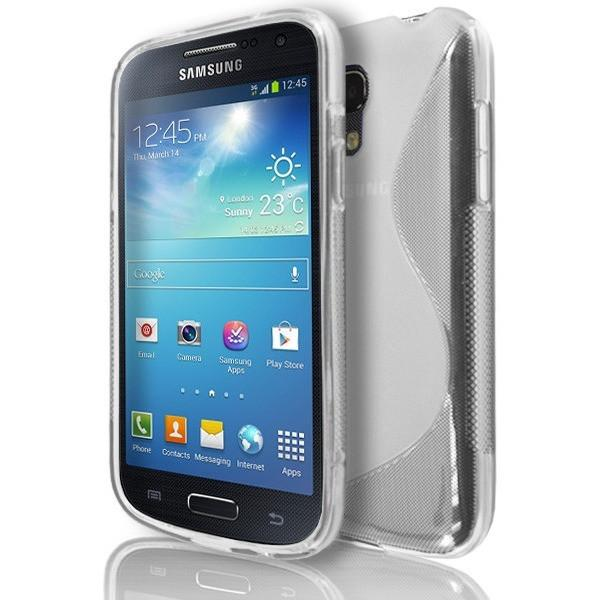 Samsung Galaxy S4 Mini (I9190) - Clear S Line Gel Silicone Rubber Case Cover