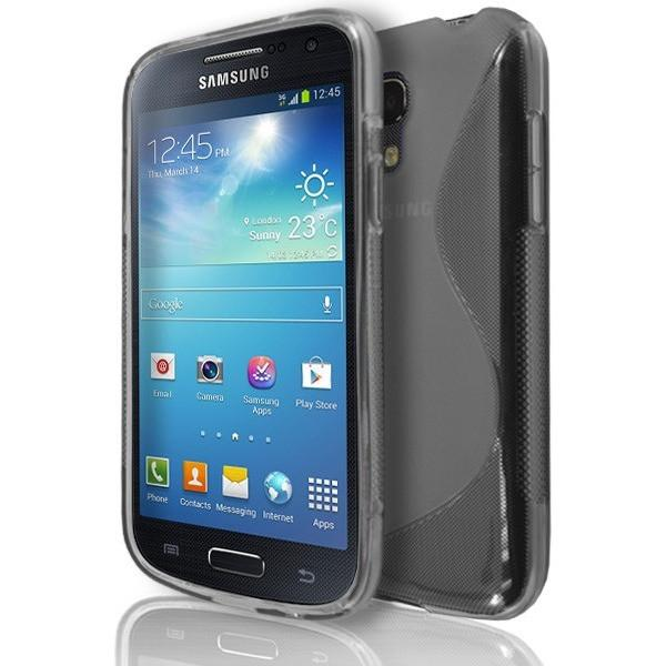 Samsung Galaxy S4 Mini (I9190) - Smoked S Line Gel Silicone Rubber Case Cover