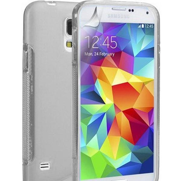 Clear S Line Case Cover For Samsung Galaxy S5 (I9600)