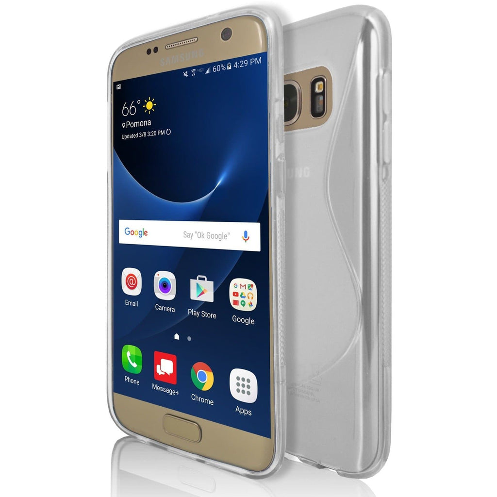 Samsung Galaxy S7 - Clear S Line Case Cover