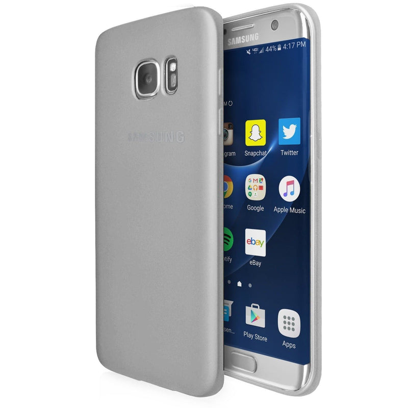 Samsung Galaxy S6  - Gel Soft Silicone Protective Case Cover - White