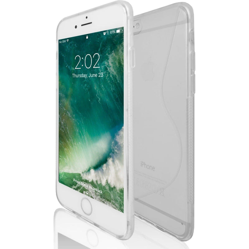 Apple iPhone 6 / 6S - Clear S Line Gel Silicone Case
