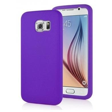Samsung Cases - Purple Silicone Case Cover For Samsung Galaxy Note I9220