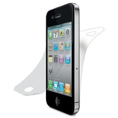 6 Pack - Front And Back Screen Protector - iPhone 4 - Quick Mobile Fix