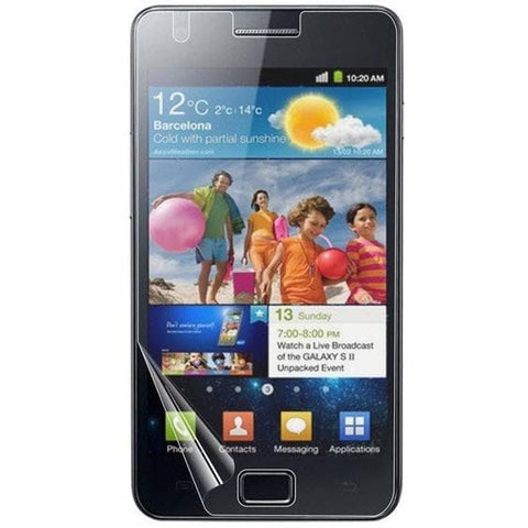 6 Pack - LCD Screen Protector - Samsung Galaxy S2