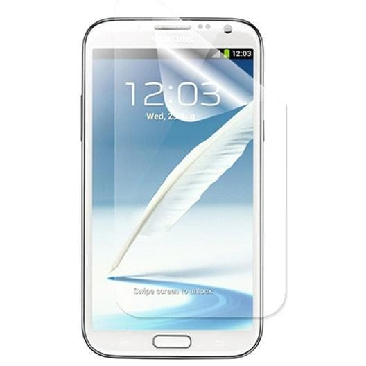 6 Pack - Screen Protector - Samsung Galaxy Note 2 - Quick Mobile Fix