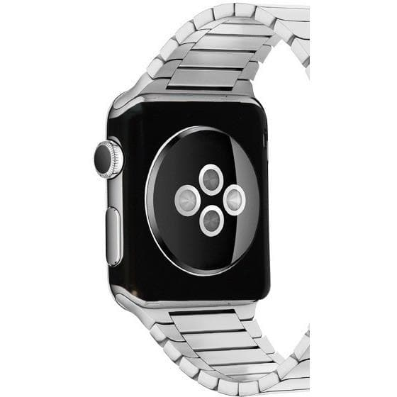 Apple Watch - 42mm Aluminium Metal Protective Rear Cover Case - Black