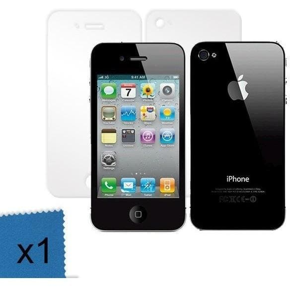 Screen Protectors - Full Body Front & Back Screen Protector For IPhone 4