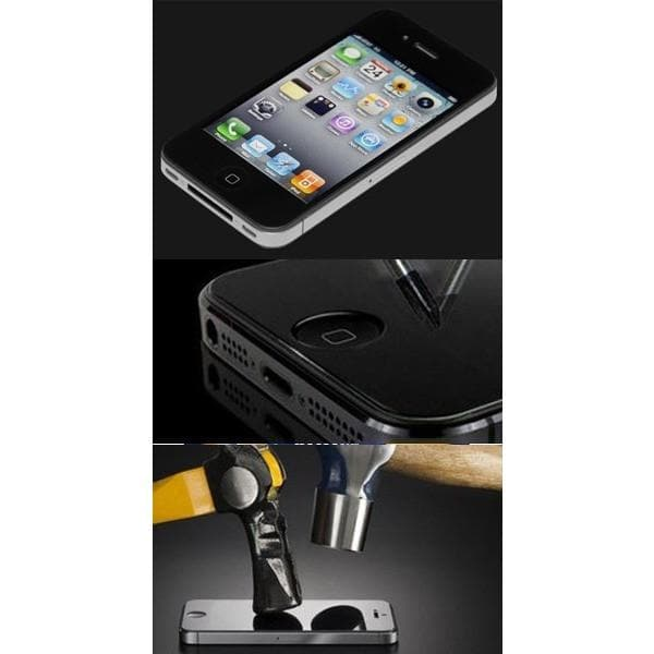 Screen Protectors - Genuine Tempered Glass Screen Protector For IPhone 4/ 4S