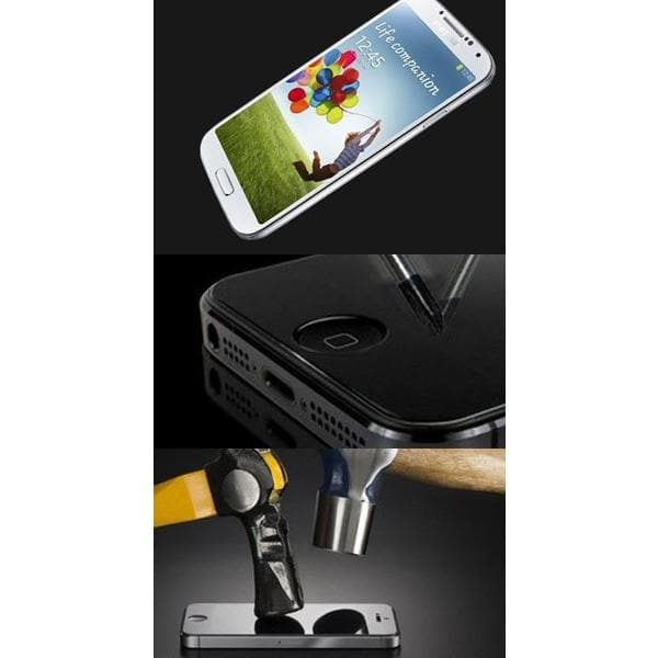 Screen Protectors - Genuine Tempered Glass Screen Protector For Samsung S4 (I9500)
