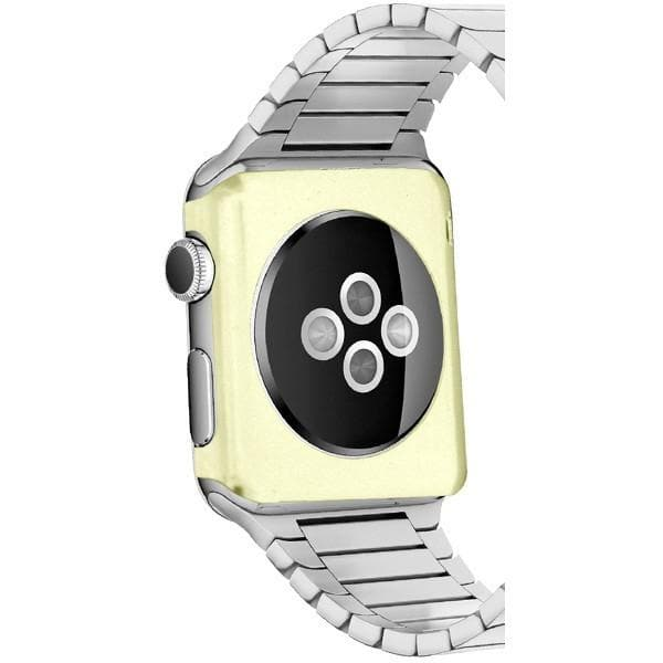 Gold 42mm Aluminium Rear Back Cover Case For Apple Watch