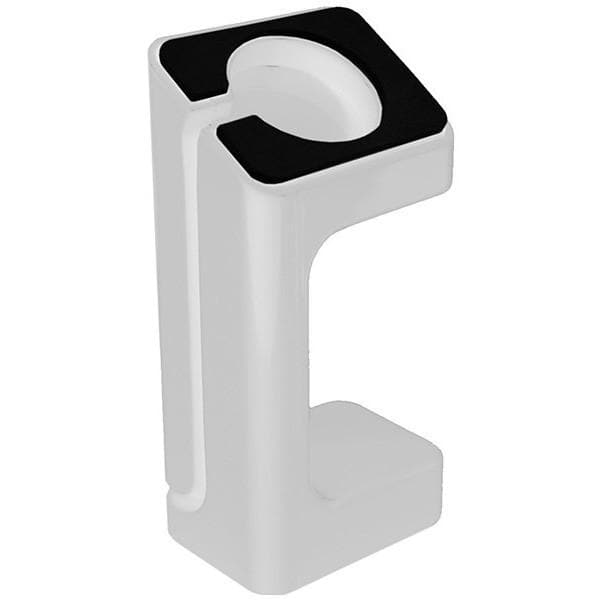 Screen Protectors - White Desktop Charging Dock Stand Holder - Apple Watch