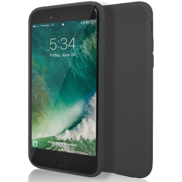 Black Matte Silicone Case for Apple iPhone 7