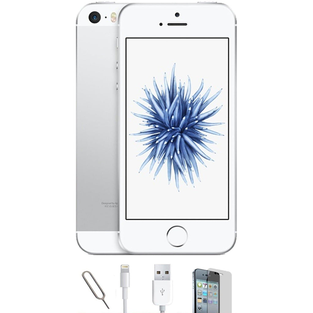 Apple iPhone SE White / Silver - (64GB)  - Unlocked - Grade A Bundle