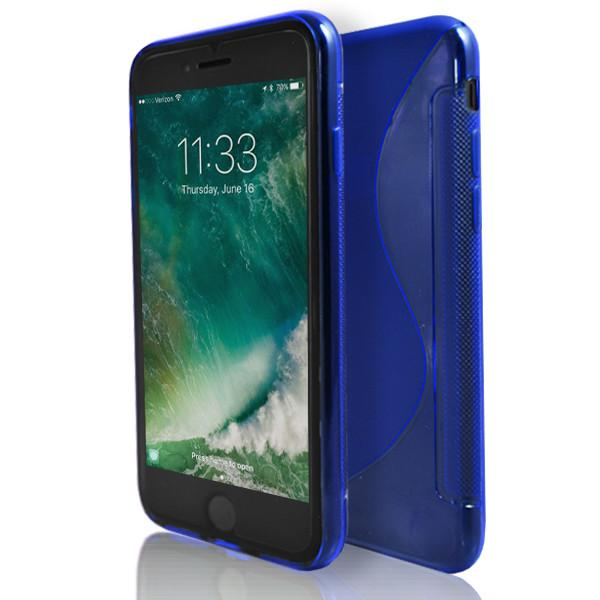 Apple iPhone 6 / 6S - Blue S Line Gel Silicone Case