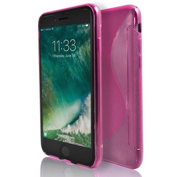 Apple iPhone 6 / 6S - Pink S Line Gel Silicone Case