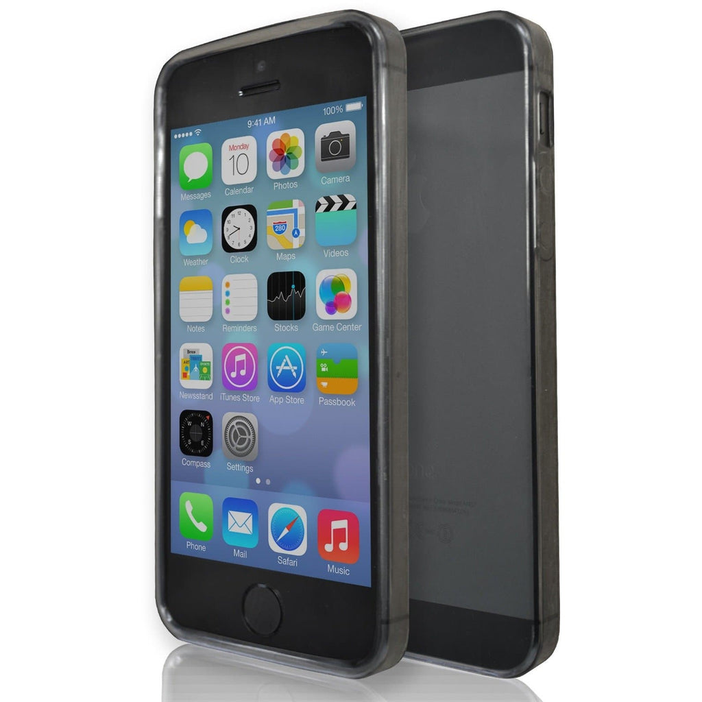 Apple iPhone 5/5S/SE Smoke Clear Case - Smoked