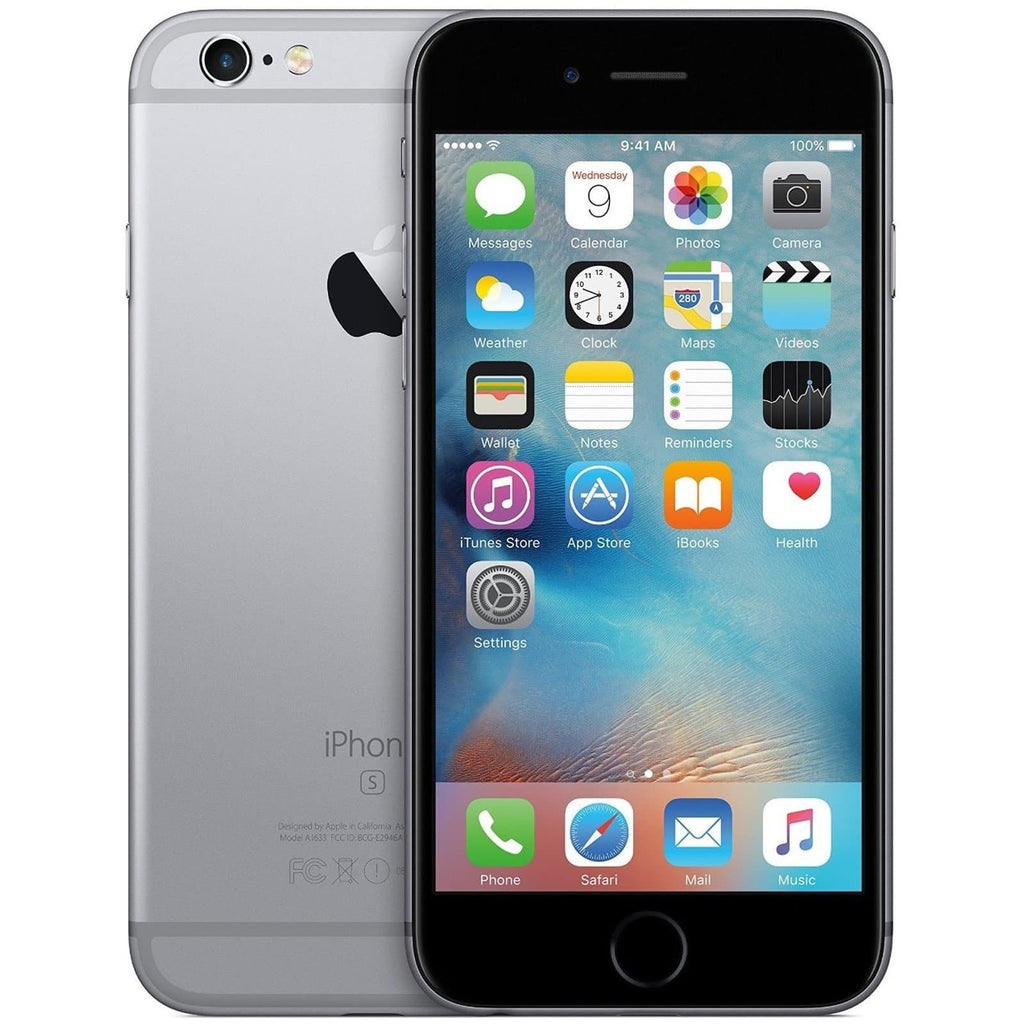 Apple iPhone 6S - Space Grey - (64GB) - EE T-Mobile Orange Virgin - Good Condition