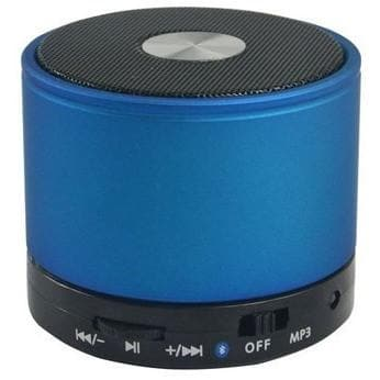 Blue Bluetooth Wireless Mini Portable Speaker For Iphone Ipad Mp3