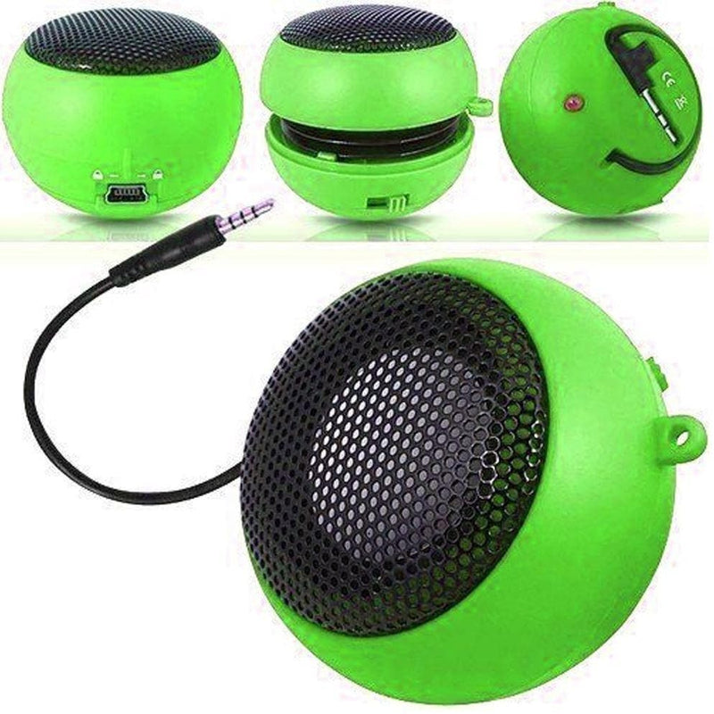 Speakers - Lime Green Mini Travel Portable Speaker