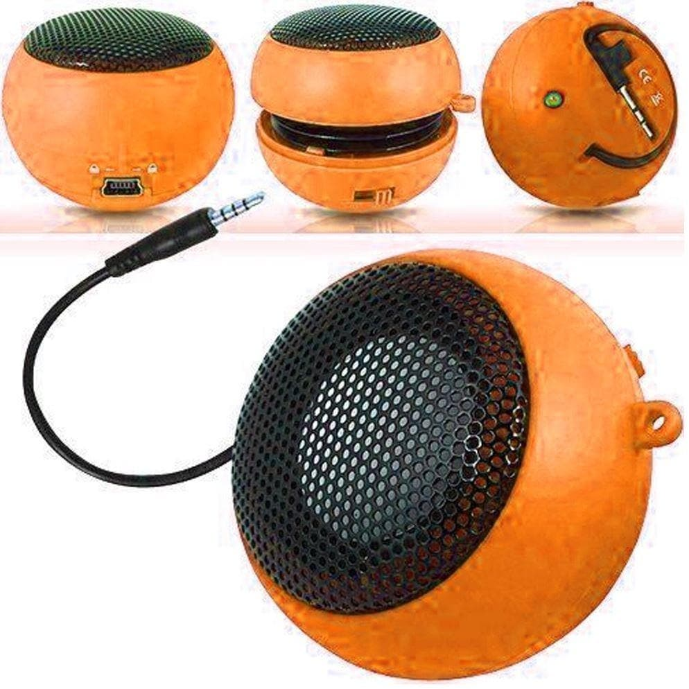 Speakers - Orange Mini Travel Portable Speaker