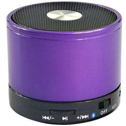 Purple Bluetooth Wireless Mini Portable Speaker For Iphone Ipad Mp3