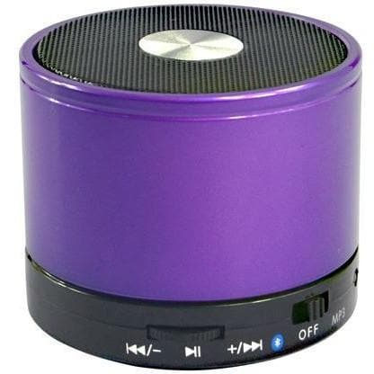 Speakers - Purple Bluetooth Wireless Mini Portable Speaker For Iphone Ipad Mp3