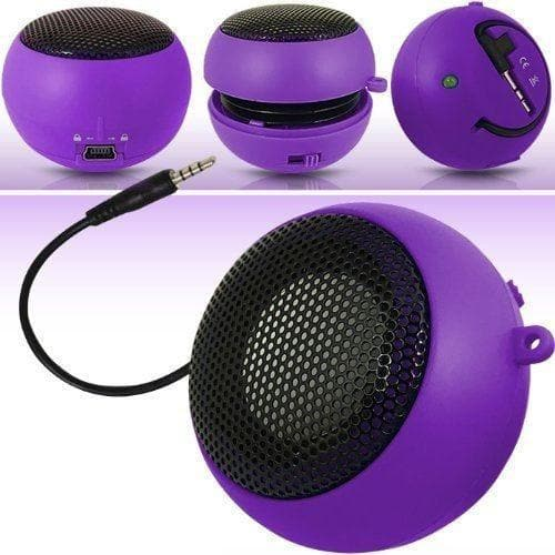 Speakers - Purple Mini Travel Portable Speaker