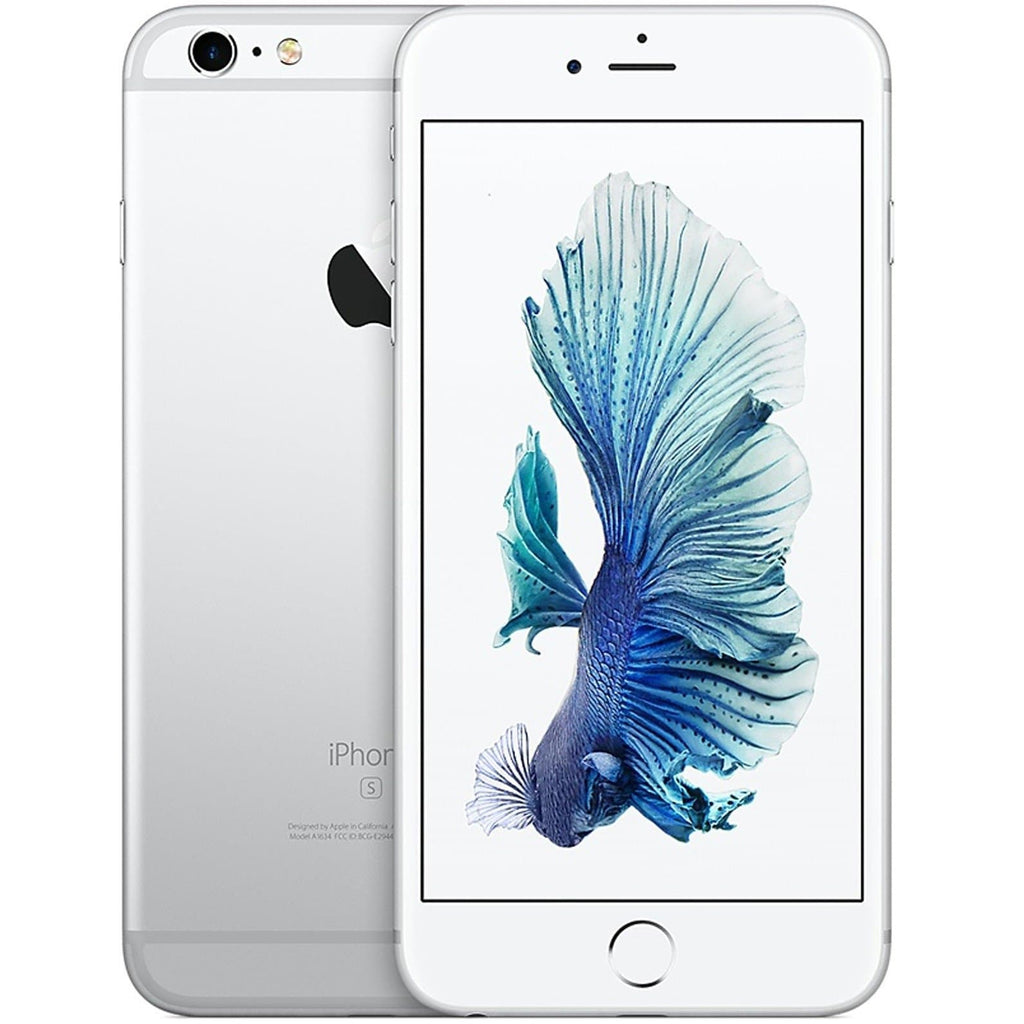 Apple iPhone 6S - White / Silver - (128GB) - EE T-Mobile Orange Virgin - Good Condition