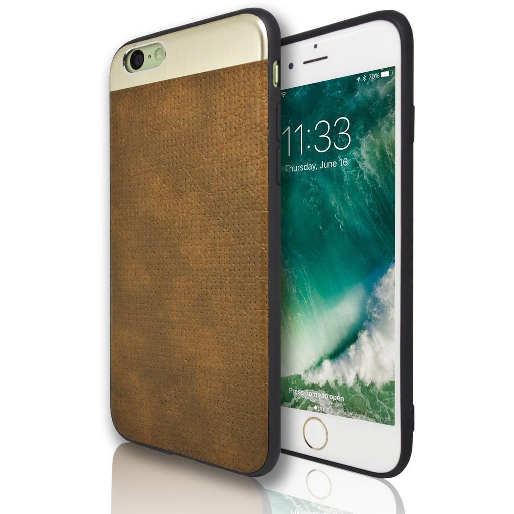 iPhone 6 / 6S Plus Wisdom Protective Silicone Case - Brown