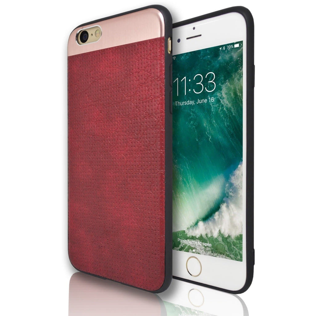 Apple iPhone 7 Plus Wisdom Protective Silicone Case - Red