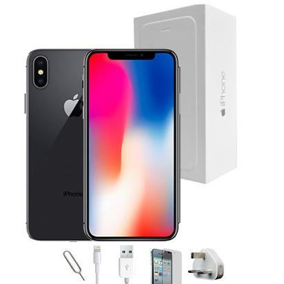 Apple iPhone X - Space Grey - (64GB) - Unlocked - Grade A Full Bundle
