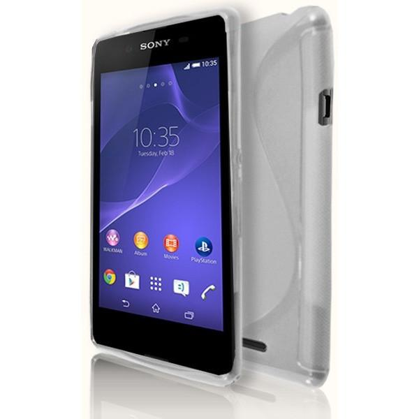 Sony Xperia E3 - Clear S Line Gel Silicone Case