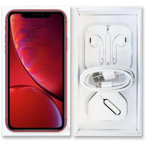 Apple iPhone XR Red (64GB) Unlocked Pristine Condition Full Bundle