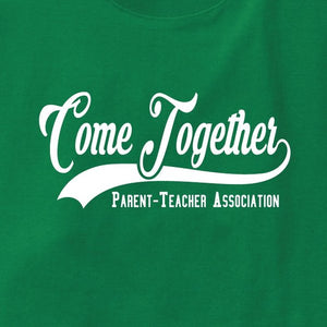 P603 PTA ユニフォーム Tシャツ Come Together ロゴ - apricot by office uns