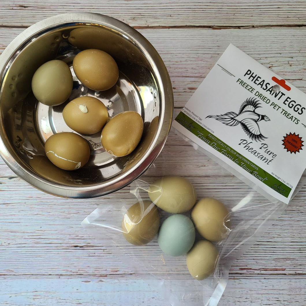 freeze dried pheasant eggs for pets