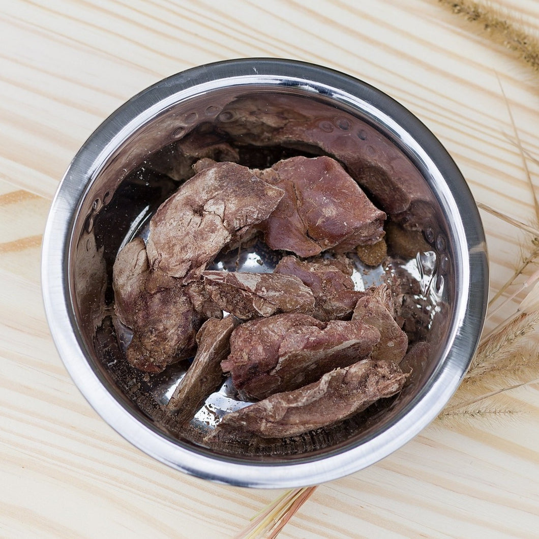 Freeze-Dried Pheasant Hearts & Liver for Dogs or Cats, 2 oz