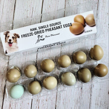 Load image into Gallery viewer, Freeze-Dried Pheasant Eggs for Dogs or Cats