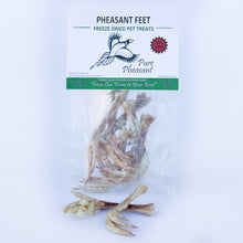 Load image into Gallery viewer, Freeze-Dried Pheasant Feet for Dogs or Cats, 2 oz