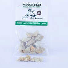 Load image into Gallery viewer, freeze dried pheasant breast for dogs or cats