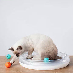 Cat Scratcher and Toy Set