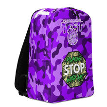 Load image into Gallery viewer, Test Purple Camo Minimalist Backpack