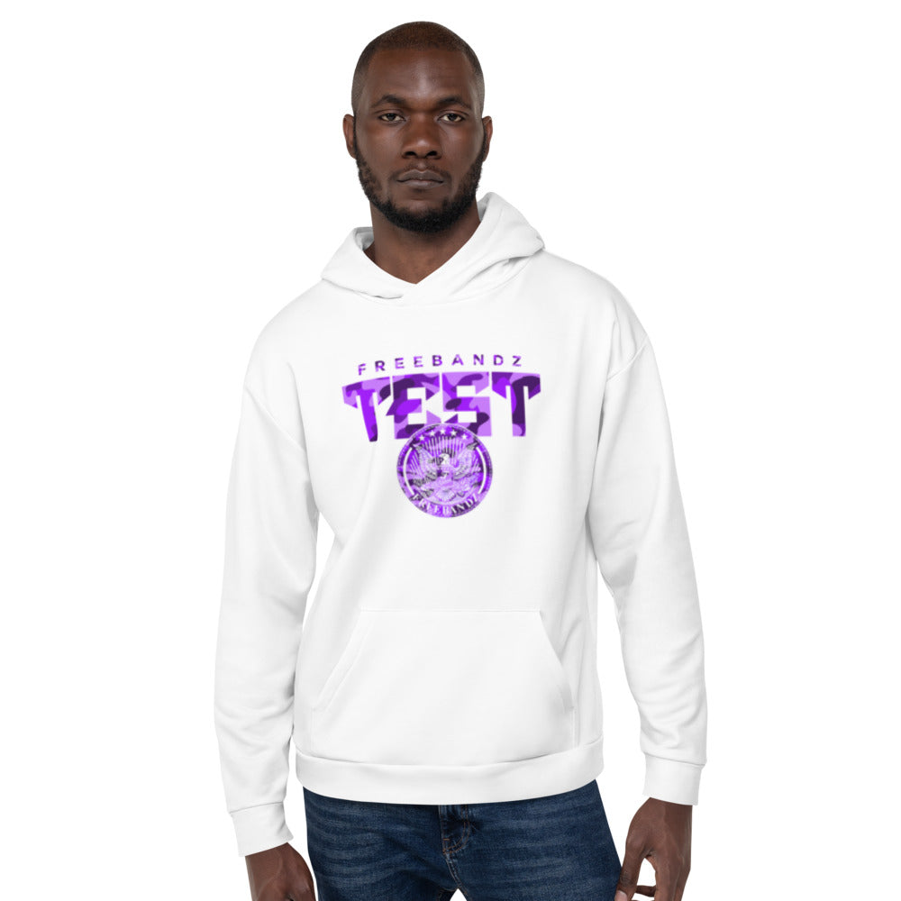 Freebandz Test White Purple Camo Hoodies (2 of 2 Set)