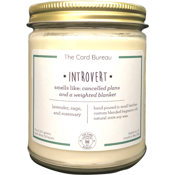 Introvert Candle 8oz