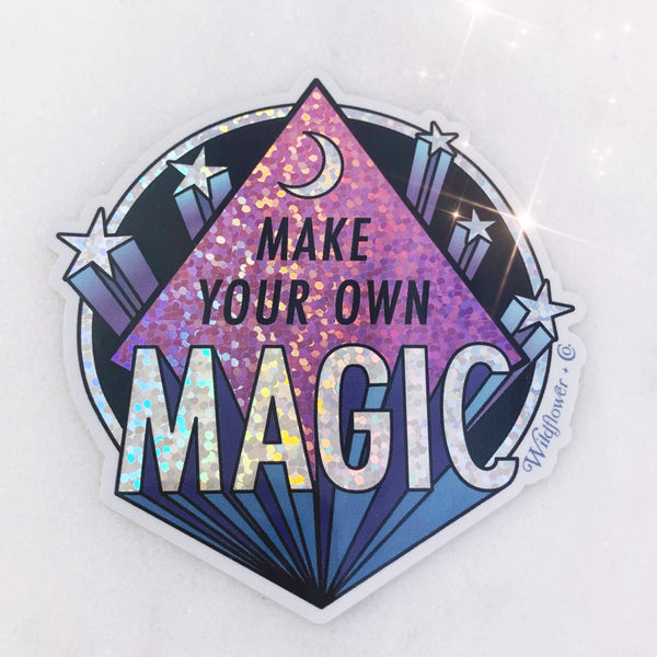 Make Your Own Magic Holographic Sticker